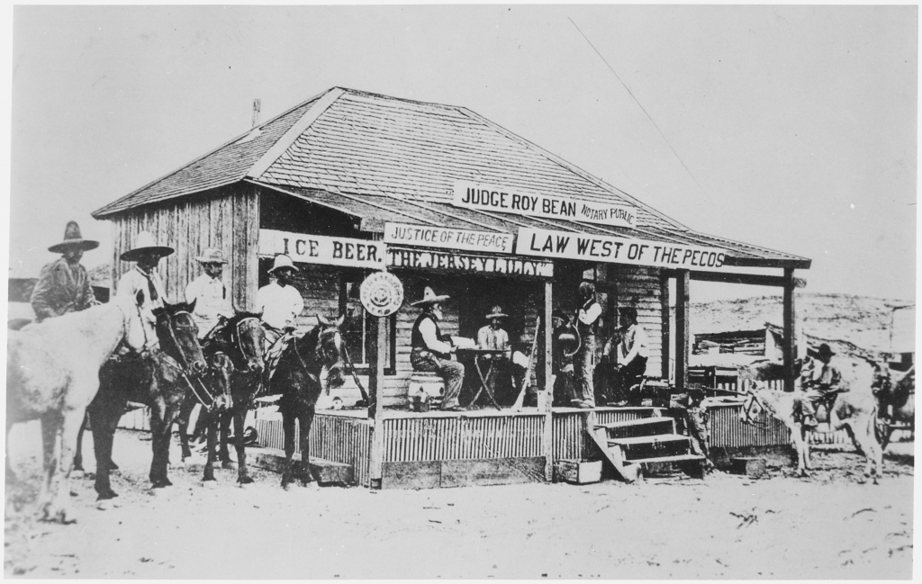 The Jersey Lilly, Langtry, Texas (1900)