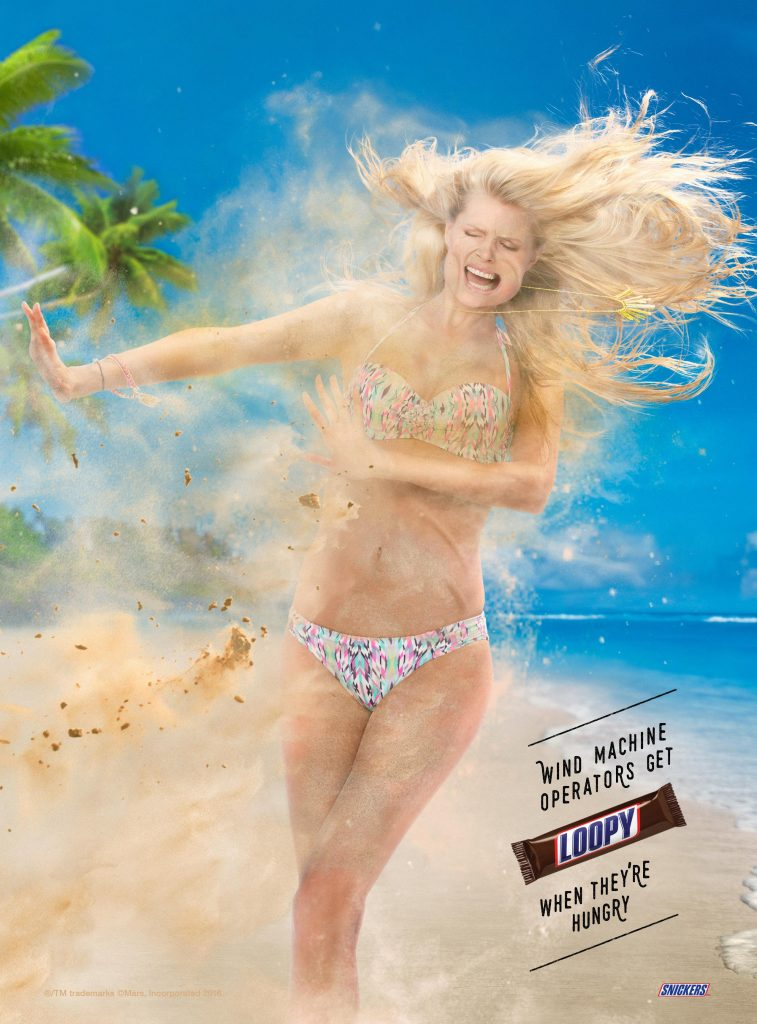 Snickers Wind Machine