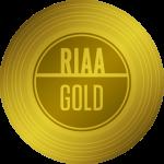 RIAA Gold Certification — 500,000 units