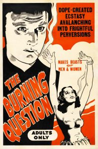 The Burning Question (1936), alternate title for Reefer Madness