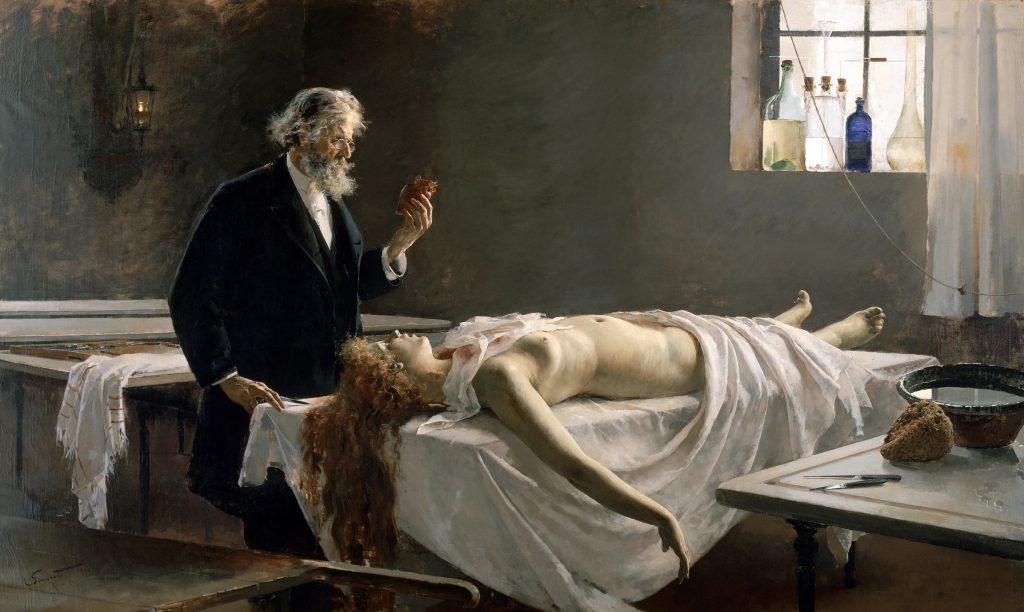 Enrique Simonet — La Autopsia (1890 )